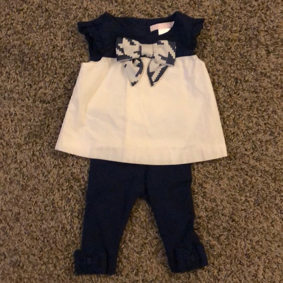 Janie and Jack Other - Janie and Jack girls set top with leggings